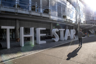Star said it was concerned that issues raised at the inquiry into Crown Melbourne could materially impact the business.
