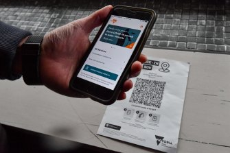 Victoria has lagged behind other states in having a single, simple check-in app to help contact tracers.