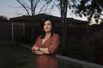Former Labor MP Emma Husar at her home in Penrith.