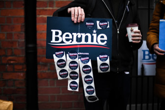 The Bernie Sanders campaign is promising an upheaval of US politics.