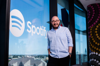 Sydney-based Michael Kim is Spotify's head of HR for Japan and Asia Pacific, and he helped develop the company's family benefits.