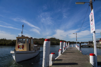 The Woy Woy to  Empire Bay Ferry, on Brisbane Water, Central Coast.