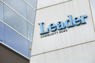 Many Leader newspapers will now be online-only.