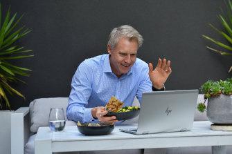Melbourne deputy mayor Arron Wood: Considers himself the underdog in the mayoral race.