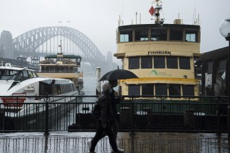 Showers are forecast in Sydney from Monday.