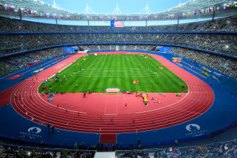 Stade de France, completed in 1998, will host athletics but may not host the opening ceremony.