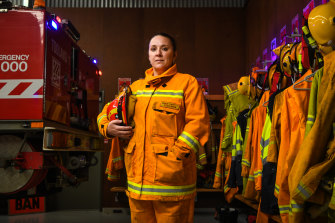 Dawn Hartog, captain of the Toolangi CFA unit, says quotas would help even the gender imbalance.