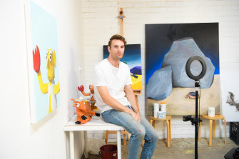 Enticed by the burgeoning NFT market, Tom Keukenmeester took a step into the digital art world.