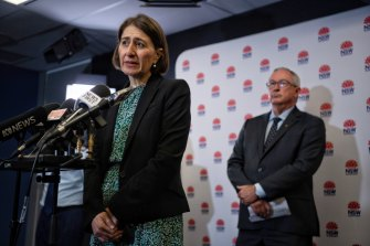 The Berejiklian government will relax some restrictions in time for Christmas gatherings.