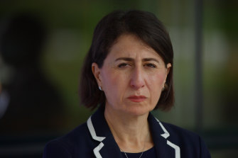 NSW Premier Gladys Berejiklian eased restrictions very slightly on Wednesday.