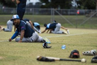 Manny Ramirez mungkin berusia 48 tahun, tapi dia menolak untuk melepaskan cintanya pada permainan.