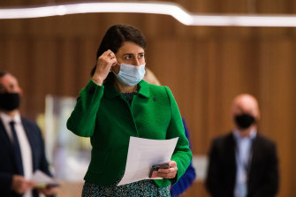 Premier Gladys Berejiklian has announced that face masks will be mandatory outdoors across NSW, except for exercise.