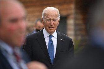 US President Joe Biden has prioritised the repatriation of US troops.