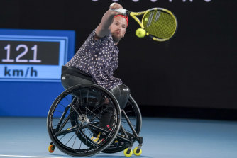 Dylan Alcott has hit out at the US Open for dropping wheelchair tennis from this year's program without consulting players.