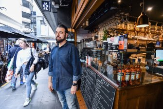 """Cafe Andiamo owner David Perrotta says the city's hospitality sector went through """"hell"""" last year."""