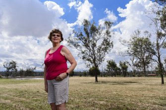 Retired teacher Moira Bryan says kangaroos have moved onto her Bringelly property.