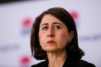 Premier Gladys Berejiklian oscillates between dark warnings and promises of freedoms.