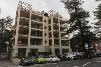 A strata committee wrangle at a Manly apartment block resulted in a court case.