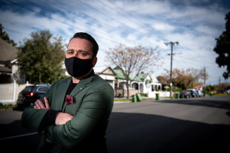 Blake Hedley, who runs Hedley Perrett Real Estate, has implemented a range of measures to stop coronavirus outbreaks at his workplace
