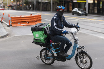 Food delivery services have seen explosive growth COVID-19 lockdowns.