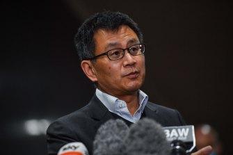 Victoria's deputy chief health officer, Allen Cheng.