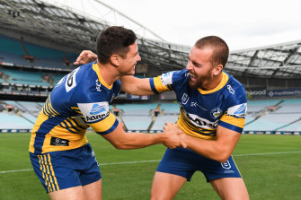 The 'King' and Mitchell Moses have been brilliant for the Eels.