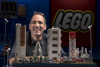 "Ryan ""The Brickman"" McNaught gets $668,000 to create an entire Jurassic World out of Lego."