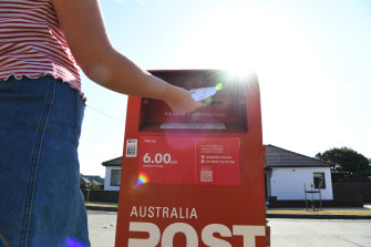 Just over 2 billion letters were sent last year, down 45 per cent since 2008.
