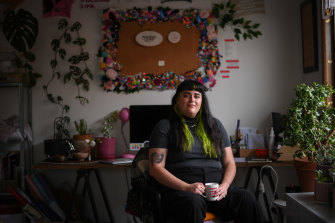 Ruby-Rose Pivet-Marsh, artistic director of the Emerging Writers' Festival.