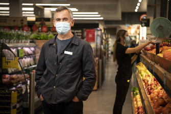 Woolworths boss Brad Banducci has been thrust into the spotlight during the COVID-19 pandemic.
