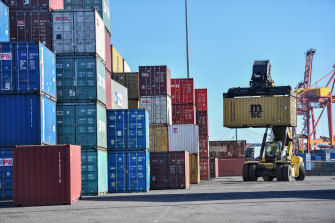 Victoria's trade deficit with China has ballooned.