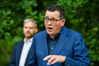 Premier Daniel Andrews admitted Victoria was struggling to land on a quarantine model for workers.
