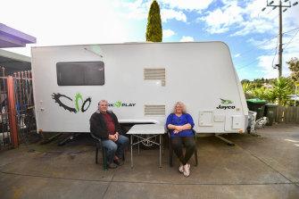 Graham and Mervel Porterhave been regulars at the Rosebud campsite.