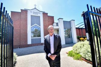 St Margaret's Primary School principal Brian Everett.