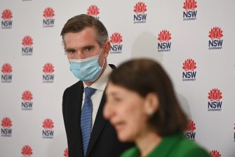 The greater Sydney lockdowns will further increase debt for NSW Premier Gladys Berejiklian and Treasurer Dominic Perrottet.