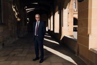 University of Sydney Vice-Chancellor Mark Scott.