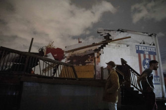 The Basement East music venue in East Nashville was destroyed by the tornado.