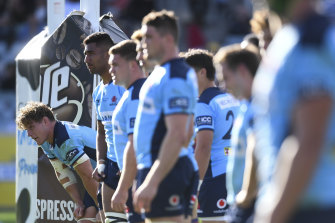 The coronavirus-enforced lay-off could give Rob Penney the opportunity to sort out his Waratahs' issues.
