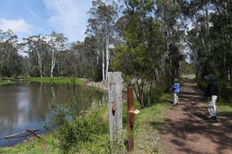 Loire Valley or Campbelltown? It's Noorumba Reserve in Gilead, north of Appin.