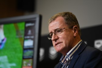 "During his weekly briefing, head of football Graham Annesley called the rise ""significant"" and said the trend would be monitored by the governing body."