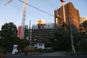 Skyview towers at 51 Old Castle Hill Rd, Castle Hill was hit with orders by the NSW Building Commissioner this week.