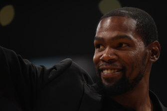 Kevin Durant and three teammates have tested positive for COVID-19.