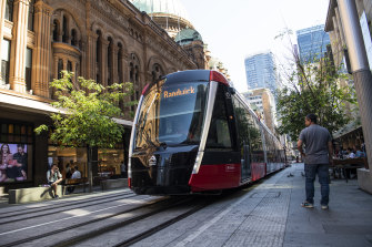 Travel times on Sydney's new light rail will speed up by around 5 minutes, according to Transport for NSW.