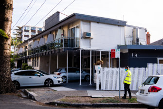 Health authorities are investing the source of the infection linked to the beachside property.
