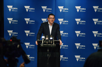 In the spotlight: Daniel Andrews has come under intense criticism over Victoria's Belt and Road agreement with China.