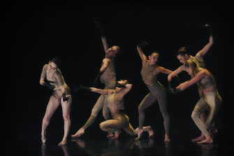 Dancers for Melanie Lane's WOOF incorporate elements of club culture.