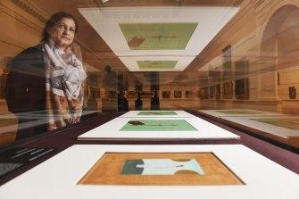 Nusra Latif Qureshi was announced as Bulgari Art Prize winner at the Art Gallery of NSW.