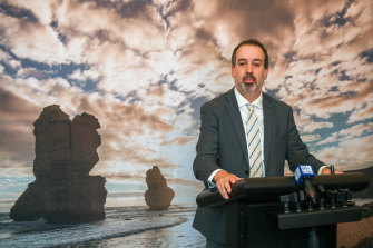 Trade Minister Martin Pakula has acknowledged Victoria started behind the eight-ball on students due to the state's second wave.