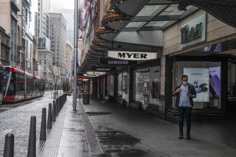 Solomon Lew has upped his stake in struggling department store Myer.