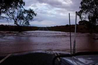 Parts of western NSW had significant rainfall over the weekend, with flash flooding in some areas near Broken Hill.